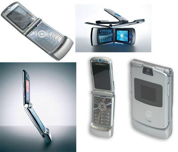 Motorola Razr V3 Silver Sim-Free Unlocked